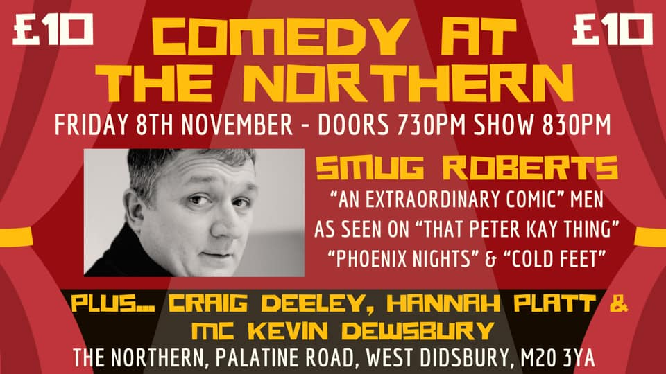 comedy - launch of 'comedy at the northern'
