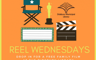 Library 320x202 - Reel Wednesdays at the Didsbury Library