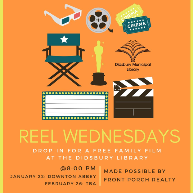 Library - Reel Wednesdays at the Didsbury Library