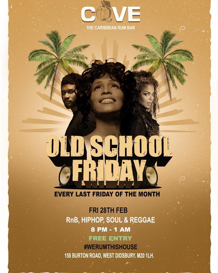 Cove - Old School Friday At 'Cove' On Burton Road