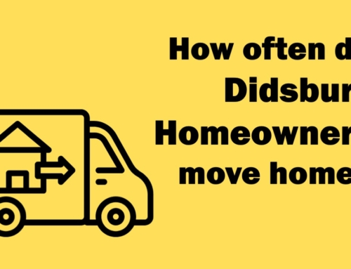 HALF OF DIDSBURY HOMEOWNERS MOVE AGAIN WITHIN 5 YEARS AND 39 WEEKS – WHY?