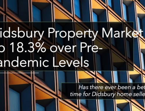 DIDSBURY PROPERTY MARKET IMPROVED BY 18.3% OVER PRE-PANDEMIC LEVELS