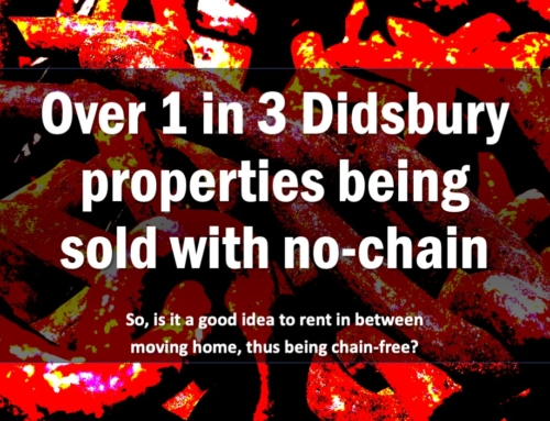 OVER 1 IN 3 DIDSBURY PROPERTIES BEING SOLD WITH NO CHAIN