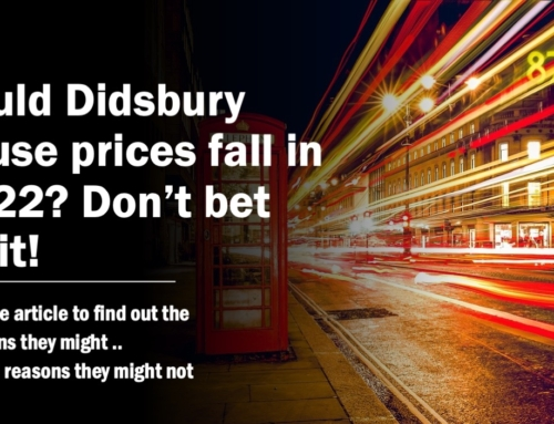 COULD DIDSBURY HOUSE PRICES FALL IN 2022? DON'T BET ON IT!